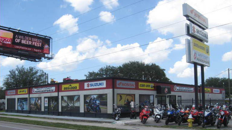 Us 19 Florida Map.Hours And Location West Coast Powersports Clearwater Florida